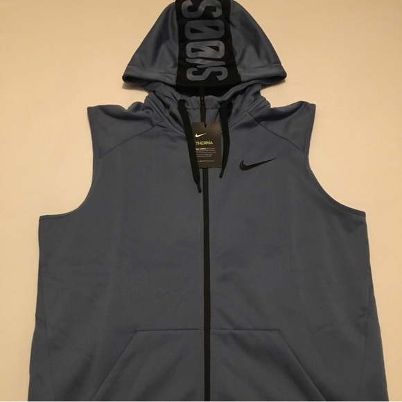 7867d5368d11f Nike Dri-Fit Therma Sleeveless Hoodie